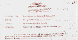Unidentified Flying Objects declassified 20 APR 1977