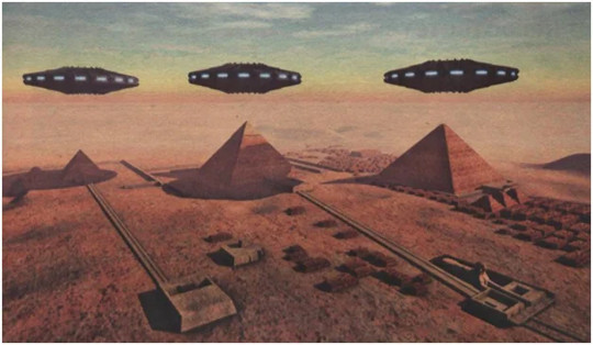 Flying saucers in Egypt