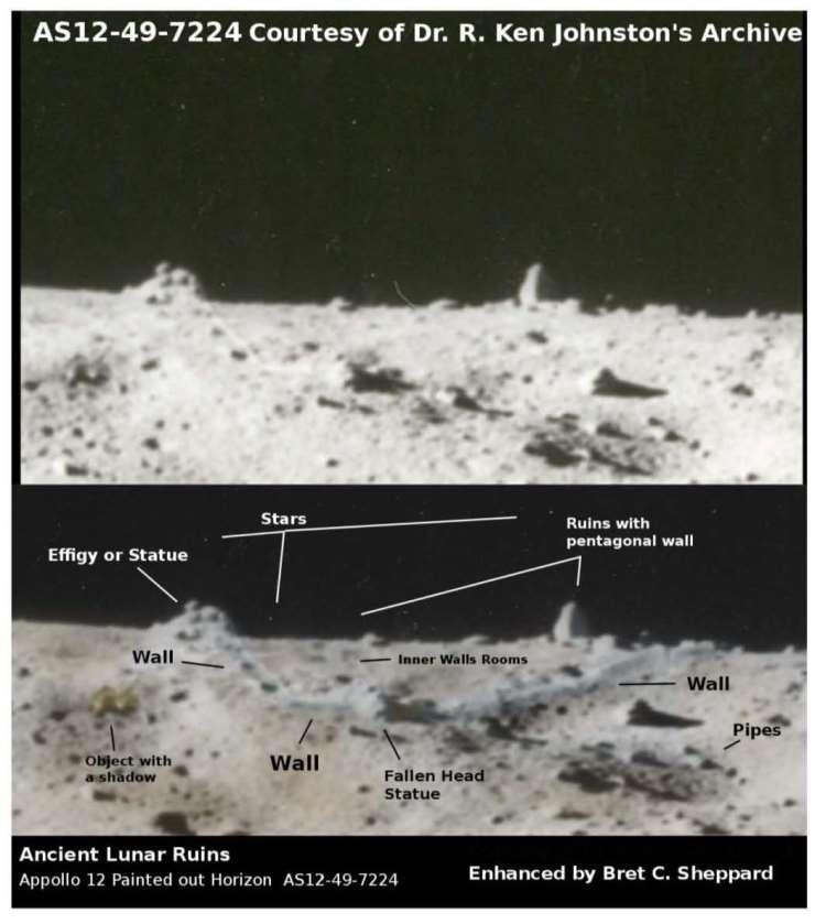 Apollo 12 Moon