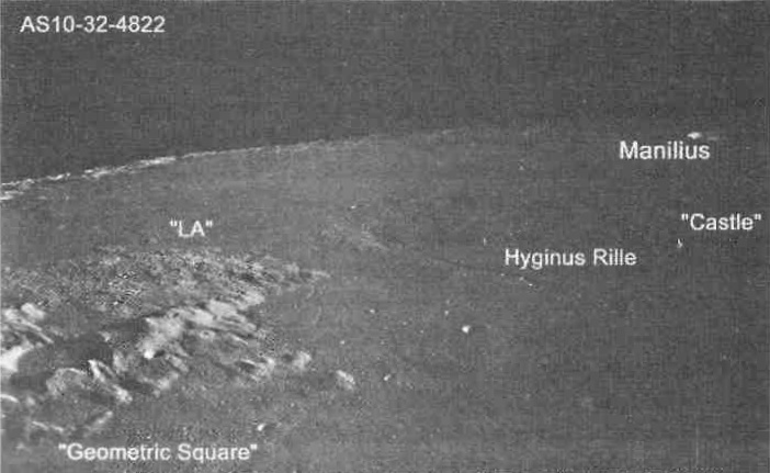 Lunar artifacts