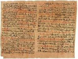 UFO sightings in Ancient Egypt? The Mystery of the Tully Papyrus