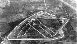 The UFO disturbed the US Air Base during the cold war
