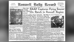 Secret officer diary. Could it reveal the truth about the Roswell UFO crash in 1947?