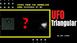 Triangular UFO sighting. UFO caught on camera 2020